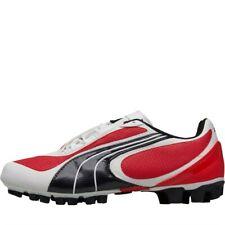 Puma Junior V5.08 GCR HG Football Boots, Red/White/Black, UK 5 EU 38, BNIB