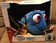 FINDING DORY PLUSH TALKING TOY - NEW IN BOX - FROM DISNEY STORE