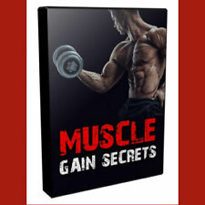 Upsell Muscle Gain Secrets Video Course 7 High-Quality Videos w/ Sales Page