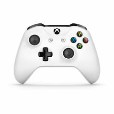 Genuine Crete White Microsoft Xbox One S Wireless Controller With 3.5mm Jack.
