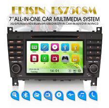 "AUTORADIO Touch 7"" MERCEDES Classe C CLK CLC W209 HD/DTV/AUX/GPS/Bluetooth Navi"