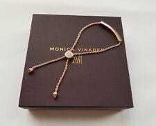 Monica Vinader Bracelet Linear Diamond Toggle Chain Bracelet