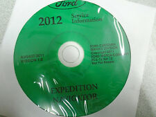 2012 FORD EXPEDITION & NAVIGATOR Service Shop Repair Information Manual CD NEW