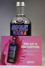 Absolut Vodka Andy Warhol 700 ml  40% Edition 0.7 l