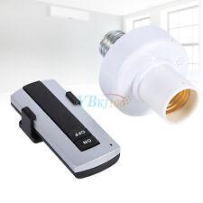 E27 Lampe Ampoule Télécommande sans fil + Douille lamp remote Holder Bulb