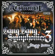 Mr. Criminal, Mr. Cr - Gang Bang Symphonies 3 [New CD] Explicit