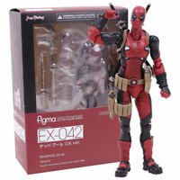 Max Factory Deadpool Figma EX-042 DX Ver. Action Figures Doll KO Collection Toy