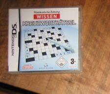 Süddeutsche Zeitung WISSEN - Kreuzworträtsel (Nintendo DS, 2009) Spiel