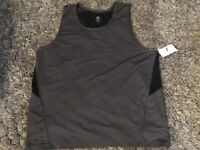 A49 C9 Champion - Men's Tank Top - Athletic with Mesh Insert - Bright Gray XXL