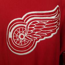 Legends Detroit Red Wings Hockey Sweatshirt Size XL Vintage 90s Striped