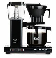 Moccamaster KBG Automatic Drip-Stop 40oz Coffee Maker - Black Metallic, Glass Ca