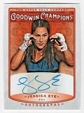 2019 Goodwin Champions Autograph Jessica Eye MMA Mixed Martial Artist UFC