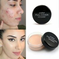1x Hide Blemish Full Cover Concealer Creamy Primer Foundation Cream Face Makeup