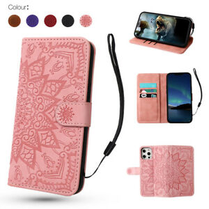 Wallet Case For iPhone 12 Pro Max XS XR SE 11 8 7 6S Leather Magnetic Flip Cover
