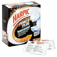 HARPIC POWER PLUS TABLETS, PACK OF 8, WORLDWIDE SHIPPING!