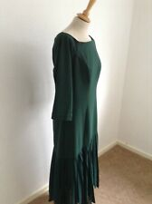 COAST Windsor Bardot Evening Forest Midi Dress Size 18 New with Tags