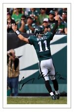 CARSON WENTZ PHILADELPHIA EAGLES SIGNED PHOTO AUTOGRAPH PRINT NFL FOOTBALL