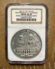 1892 World's Columbia Expo Grover Cleveland, Adlai Stevenson, Medal NGC AU 58