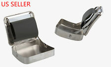 Automatic Tobacco Roller Box Cigarette Roll Rolling Machine Stainless Steel Case