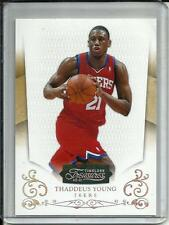 Thaddeus Young 10/11 Timeless Treasures Silver Parallel #10/25