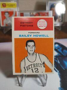 1961 Fleer Basketball SETBREAK Bailey Howell ROOKIE RC #20 SHARP EDGES