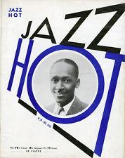 """JAZZ HOT N° 28 : Bill COLEMAN (DECEMBRE 1948)"