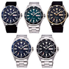 Orient Unisex Automatic Watch Stainless Silicone Rubber Sapphire Diver's 20 Atm