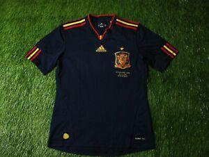SPAIN TEAM VS NETHERLANDS 2010/2011 FOOTBALL SHIRT JERSEY AWAY ADIDAS ORIGINAL