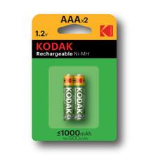 PILA KODAK RECARGABLE 1000MAh LR03 AAA 1.2V (PÀCK 2)