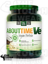 SDC NUTRITION - ABOUT TIME VE 2Lbs VANILLA - VEGAN PROTEIN FORMULA