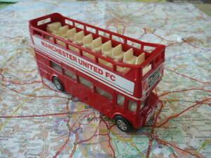 LEYLAND Routemaster  Bus à Impérial Manchester United FC Ancien CORGI