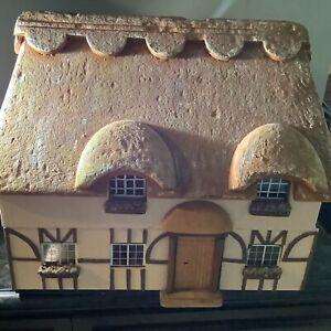 Vintage Tudor Dollhouse-1/16-1/24 Scale Heavy Well Built Artisan