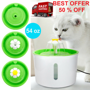 Automatic Cat Dog Water Fountain Electric Pet Drinking Dispenser Bowl & 2021 NEW