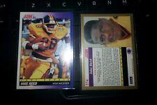 1991 Score Jake Reed Minnesota Vikings #574 Football Card