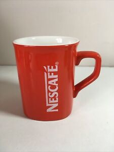 NESCAFE Red Coffee Cup / Mug Square Shaped