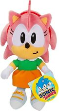 "Sonic The Hedgehog - Amy Rose Plush 7"" inches Tall New 2020"
