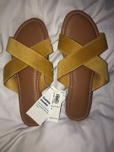 Old Navy Yellow Sandals