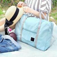 Foldable Travel Storage Bag Waterproof Carry-on Big Hand Shoulder Duffle Bag