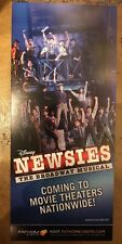 Disney Newsies Broadway Musical Movie Flyer Jeremy Jordan Kara Lindsay