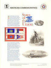#62 13c 50 State Flags #1633-1682 USPS Commemorative Stamp Panel