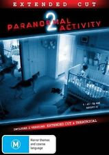 Paranormal Activity 2 (DVD, 2011) - Brand New -- Free Postage --