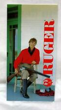 guns - RUGER FIREARMS - 1990 pamphlet - sportswear & accessories with Ruger logo