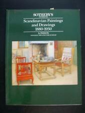 SCANDINAVIAN PAINTINGS AND DRAWINGS 1880-1930 - SOTHEBY'S LONDON 1988