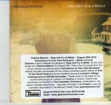 (DI908) Patrick Watson, Step Out For A While - 2012 DJ CD