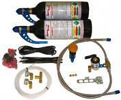 Motorcycle Nitrous Oxide Kit Twin Bottles Hayabusa  GSXR1000, drag bike nitrous