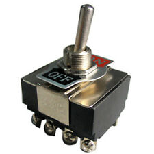 Toggle Switch 4PST ON/OFF 10 AMP @ 125 VAC K401