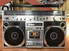 Toshiba RT-8860S Boombox Ghetto Blaster Cleaned And Serviced
