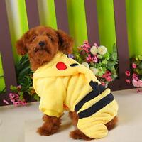 XMAS Pet Dog Warm Clothes Coat Apparel Jumper Sweater Puppy Cat Knitwear Costume