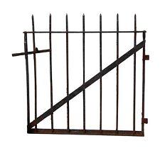 Two Matching Wrought Iron Garden Gates