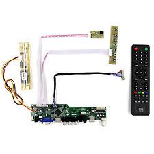 "TV HDMI VGA AV USB AUDIO LCD Driver Board For 15"" M150XN07 V9 1024x768 LCD"